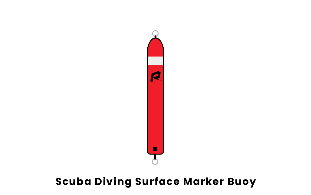 scuba diving surface marker buoy