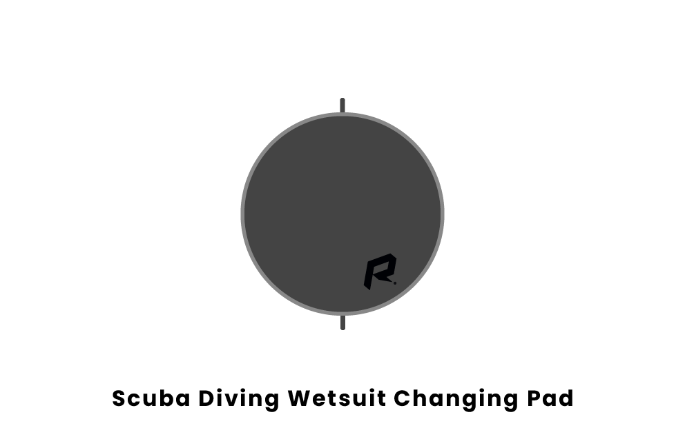 scuba diving wetsuit changing pad