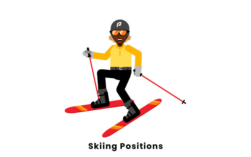 Skiing Positions