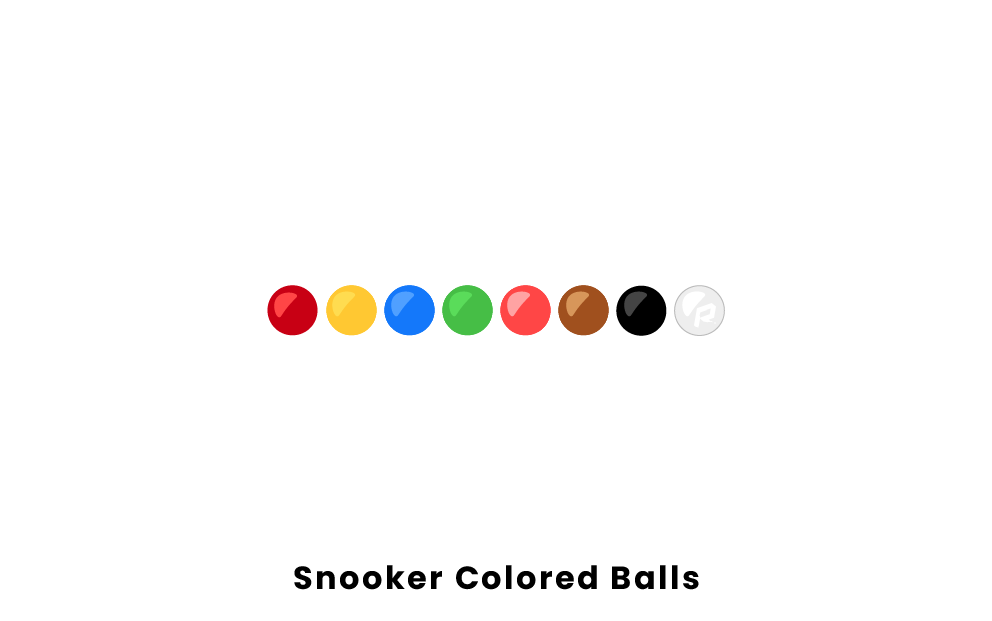 Snooker Colored Balls