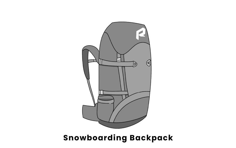 snowboarding backpack