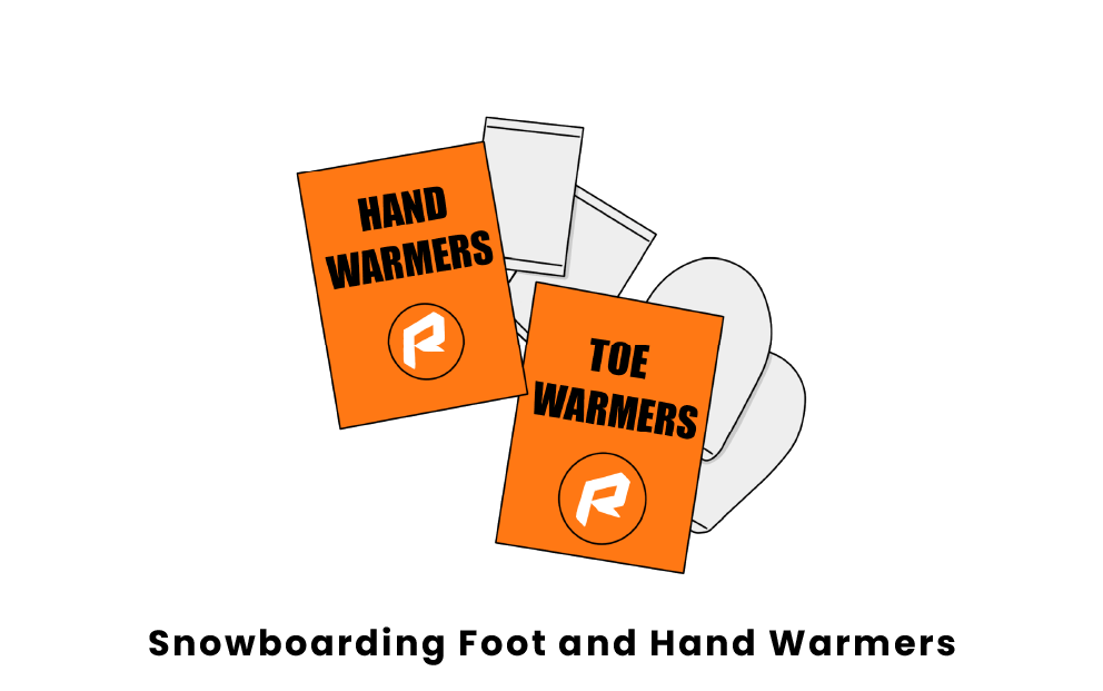 snowboarding foot and hand warmers