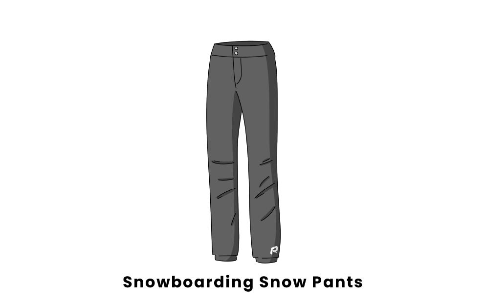snowboarding snow pants