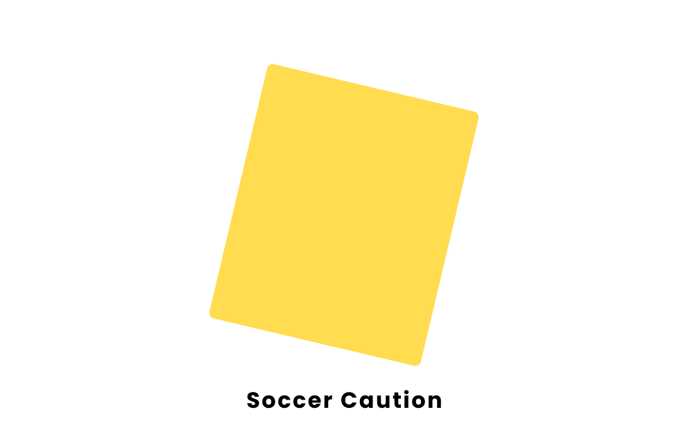 Soccer Caution
