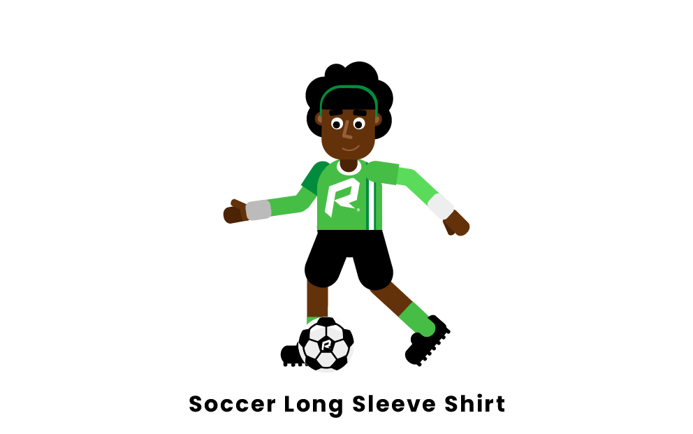 soccer long sleeve shirt