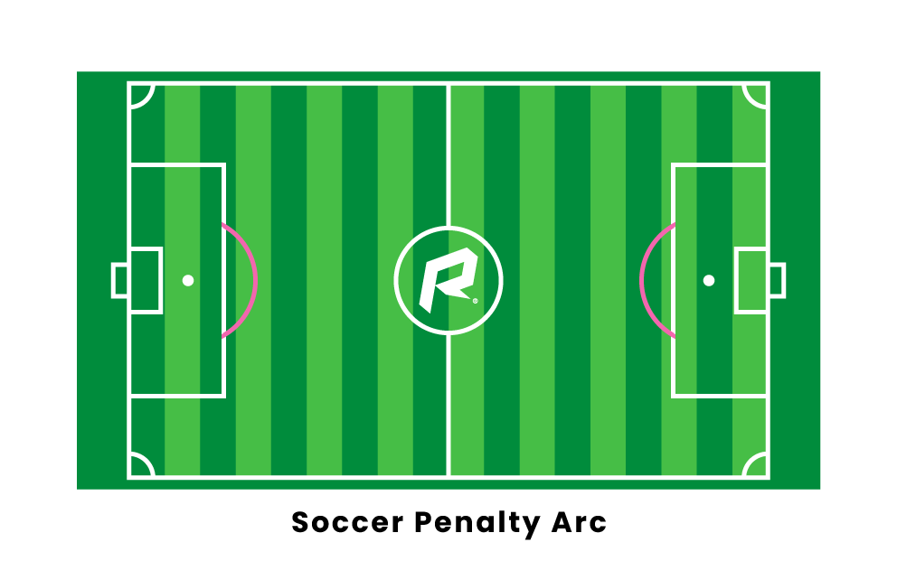 soccer penalty arc