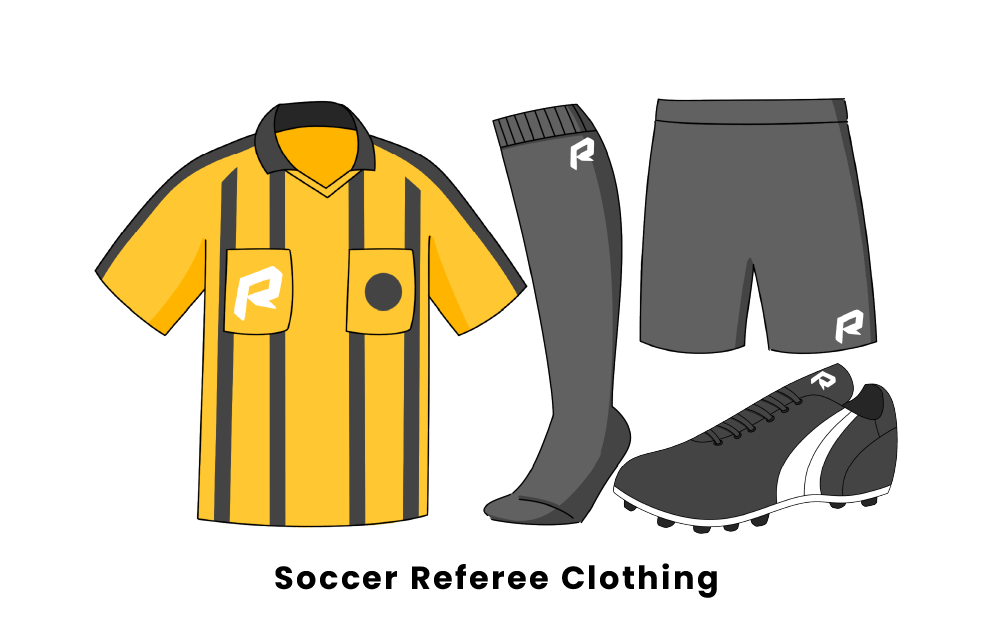 soccer referee clothing