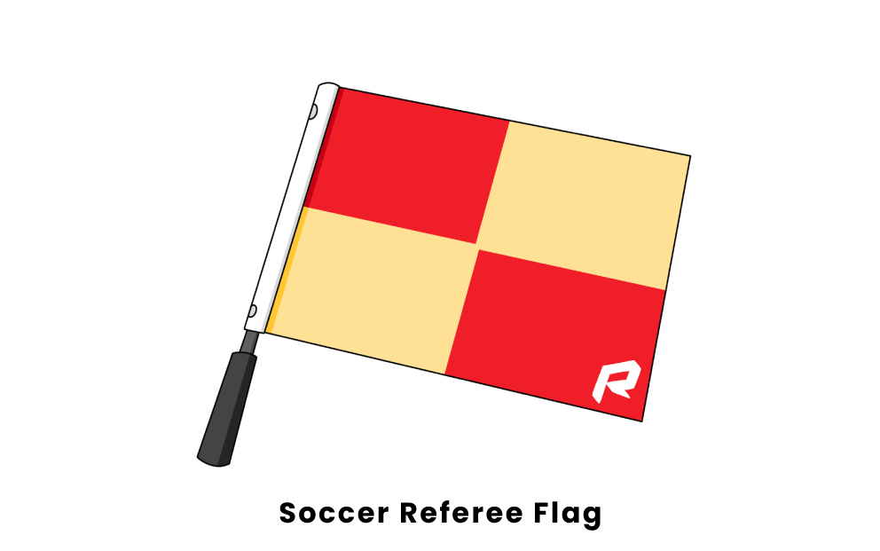 soccer referee flag