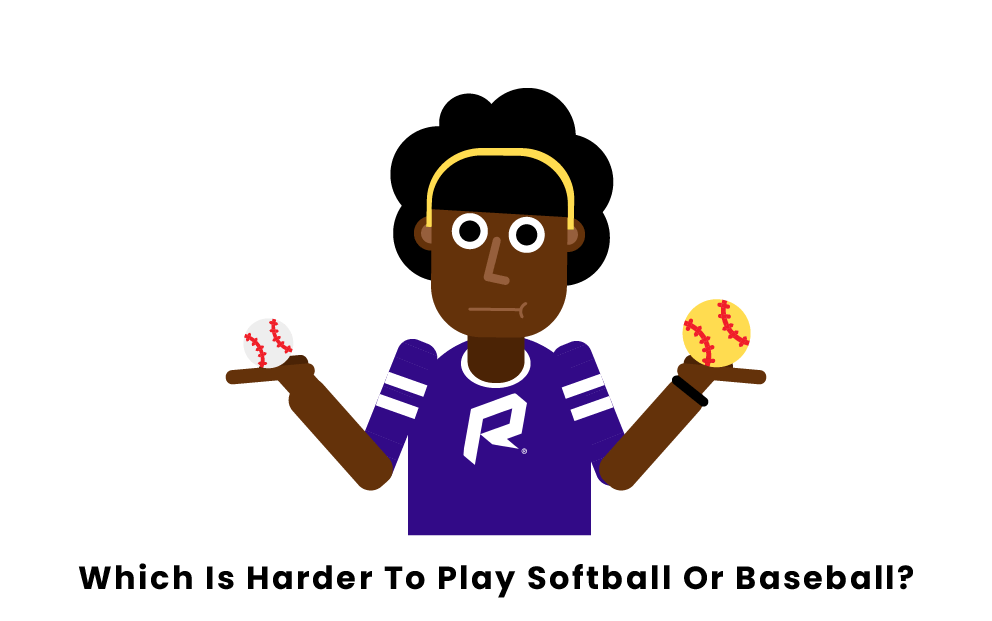 Which Is Harder To Play Softball Or Baseball