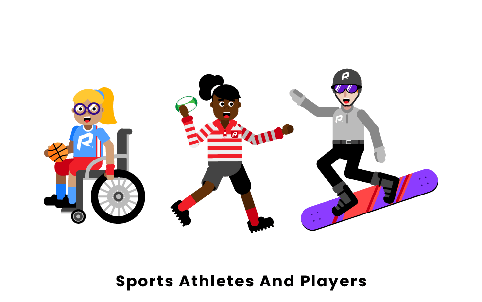 sports athletes and players