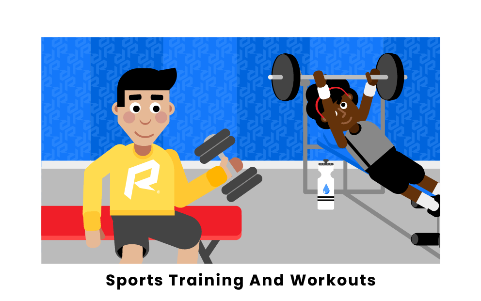 sports training and workouts