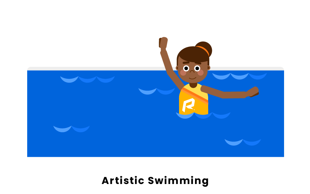 artistic swimming
