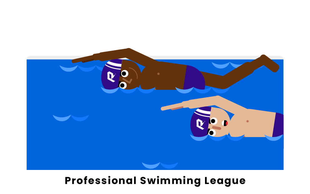 professional swimming league