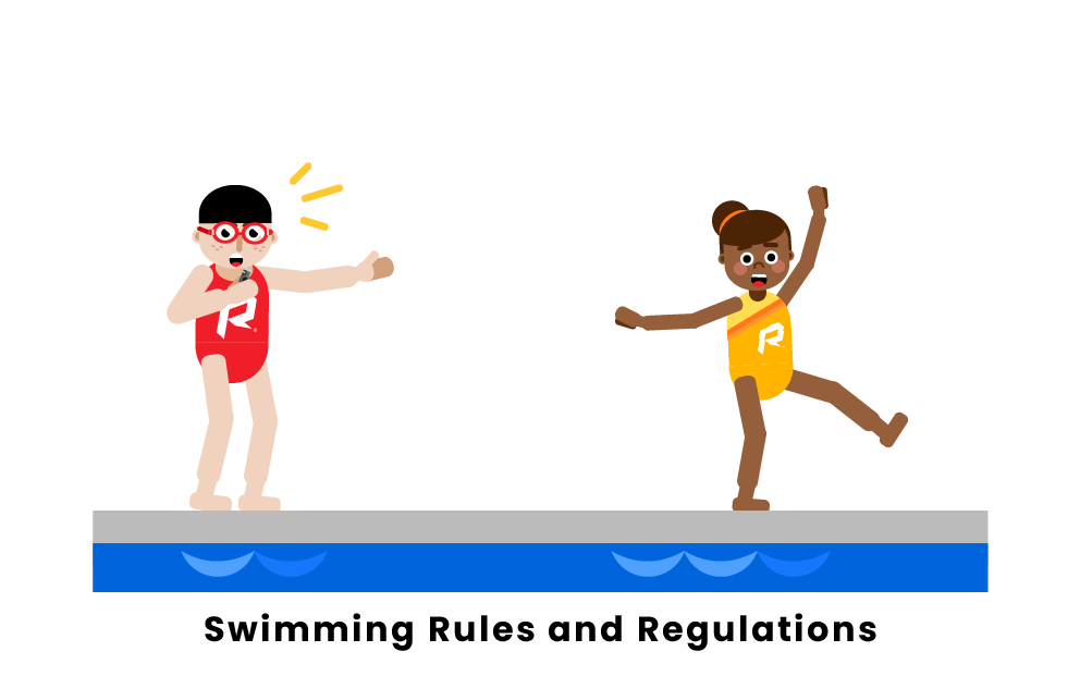 swimming rules and regulations