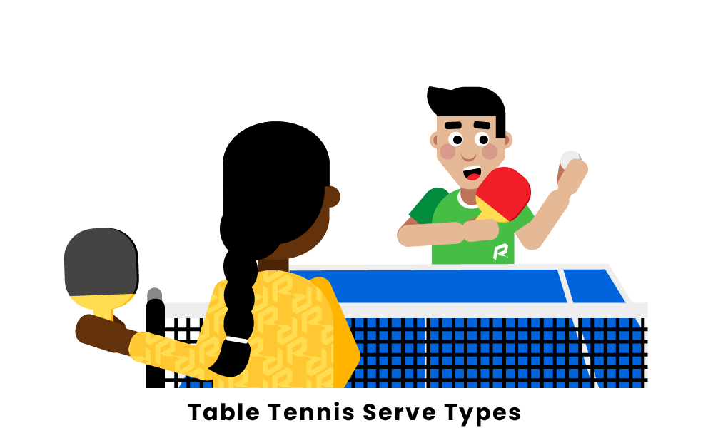 Table Tennis Serve Types