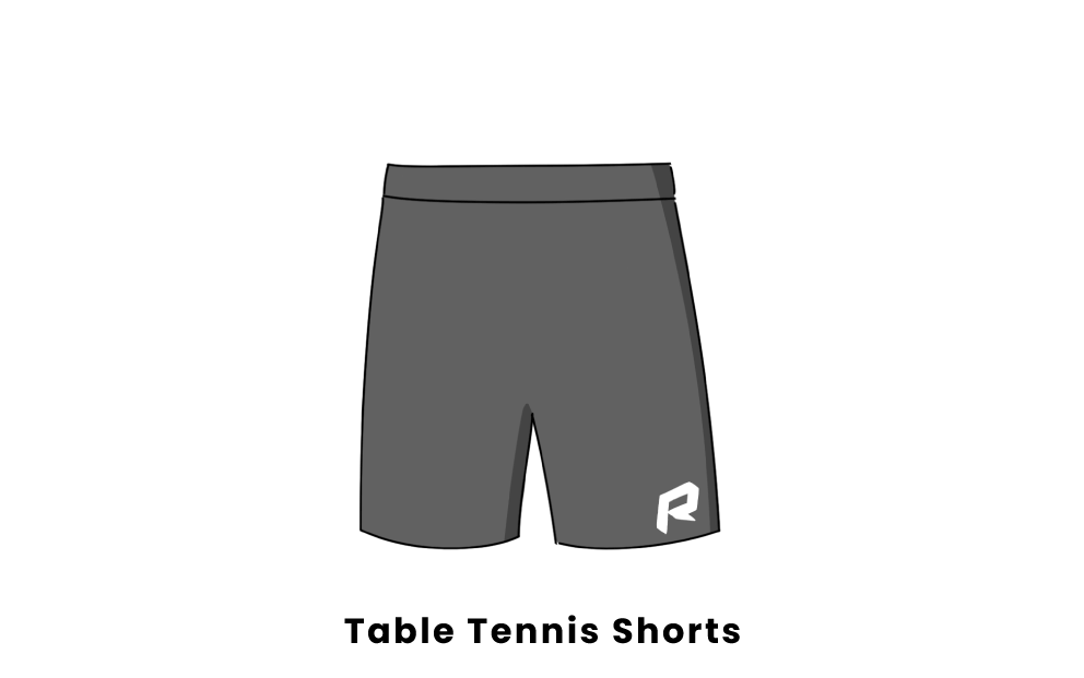 table tennis shorts