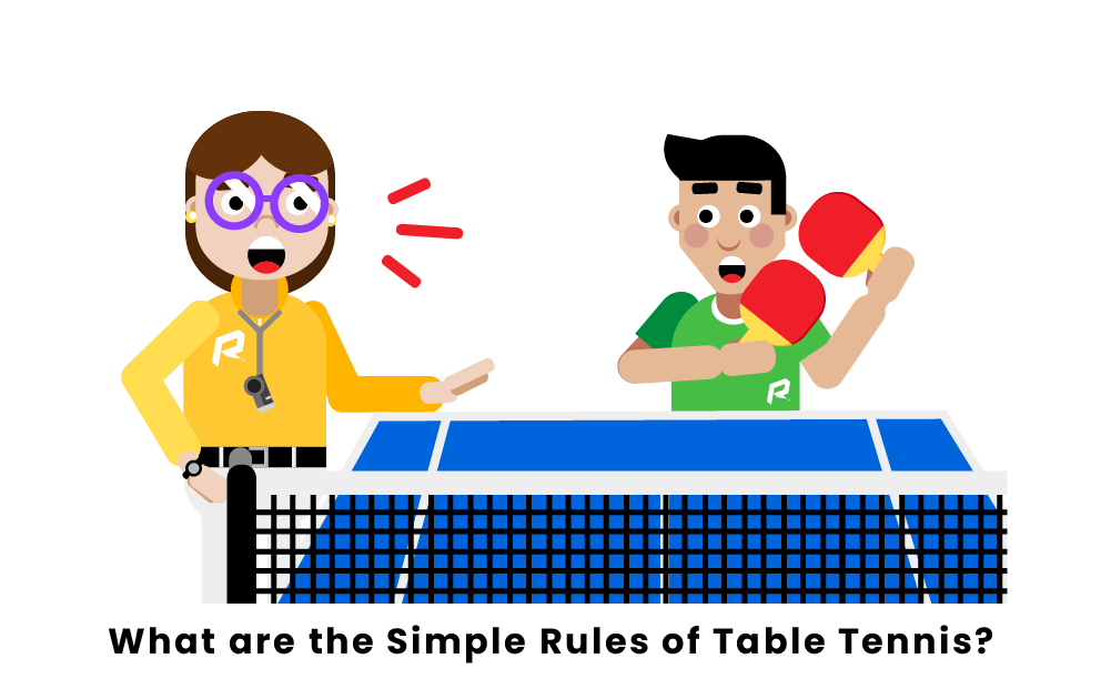 What Are The Simple Rules Of Table Tennis