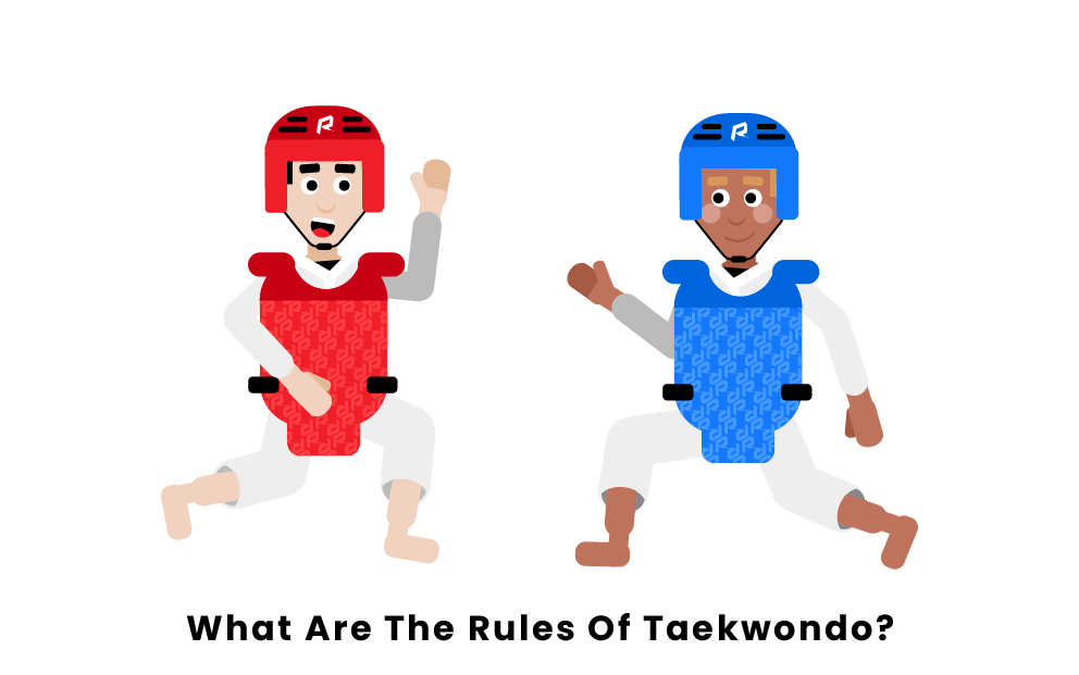 What are the rules of taekwondo?