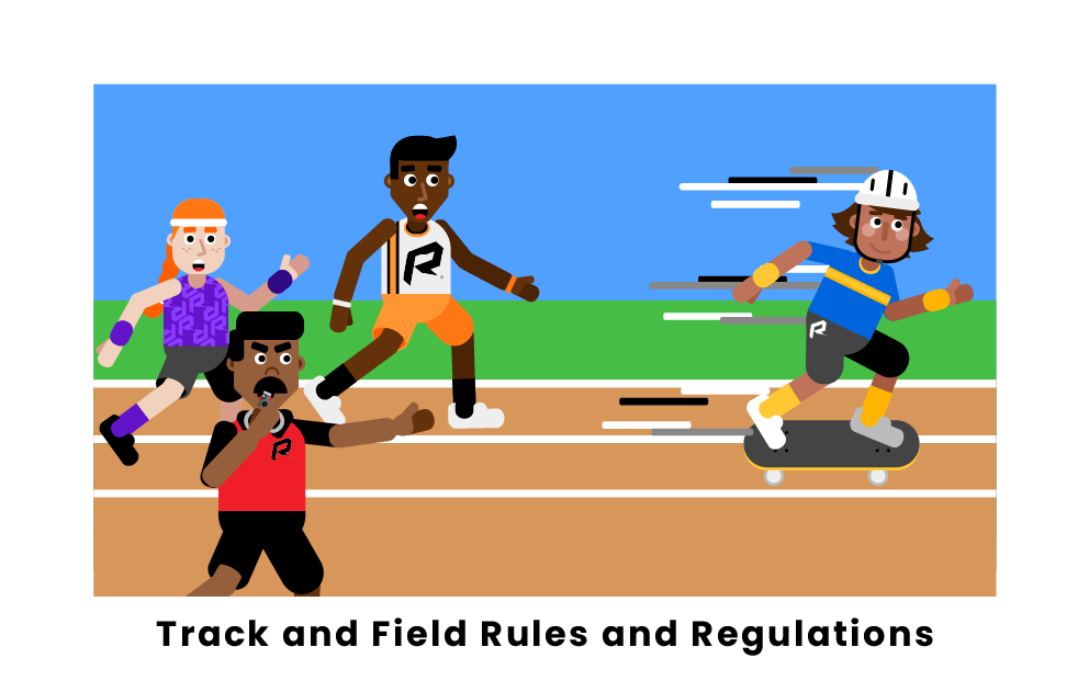 track and field rules and regulations