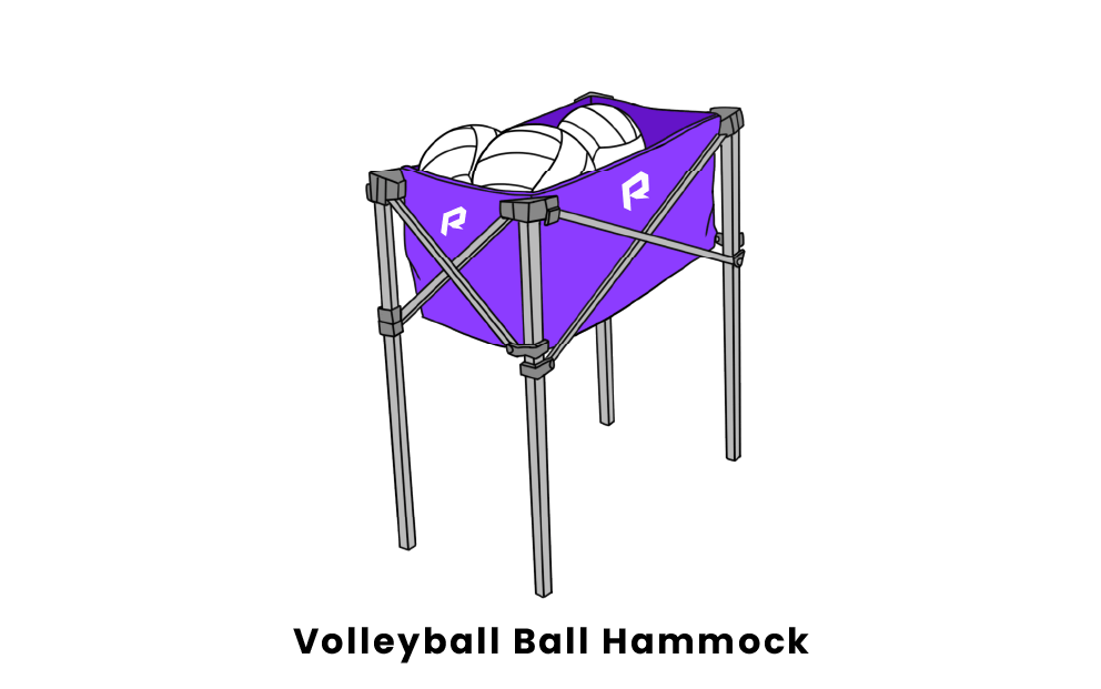 volleyball ball hammock