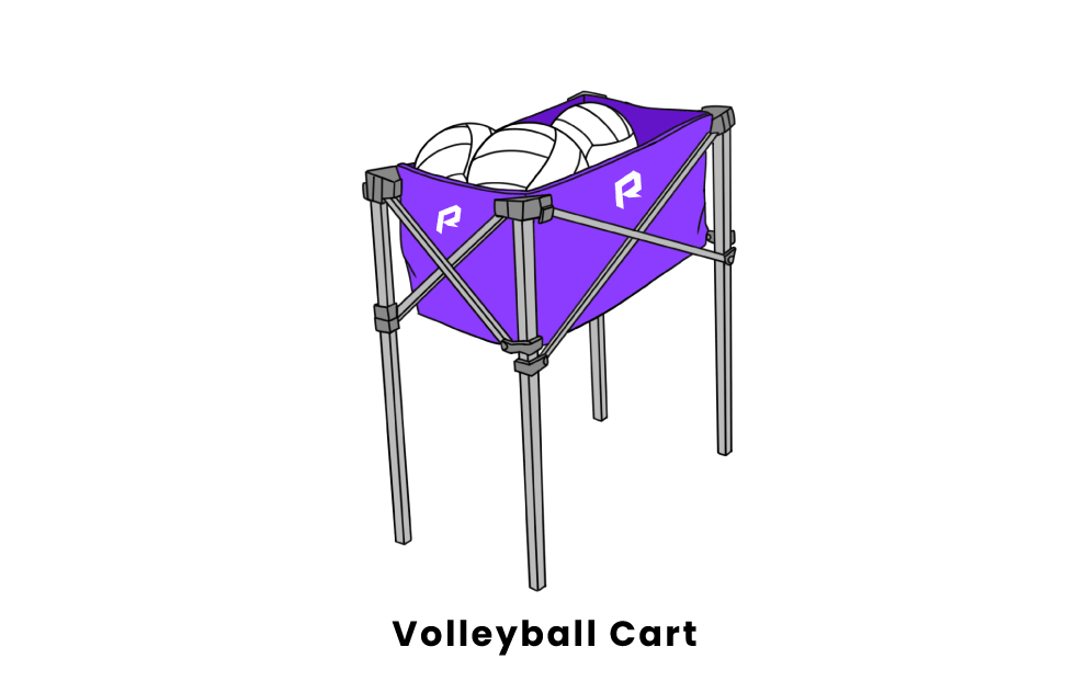 volleyball cart