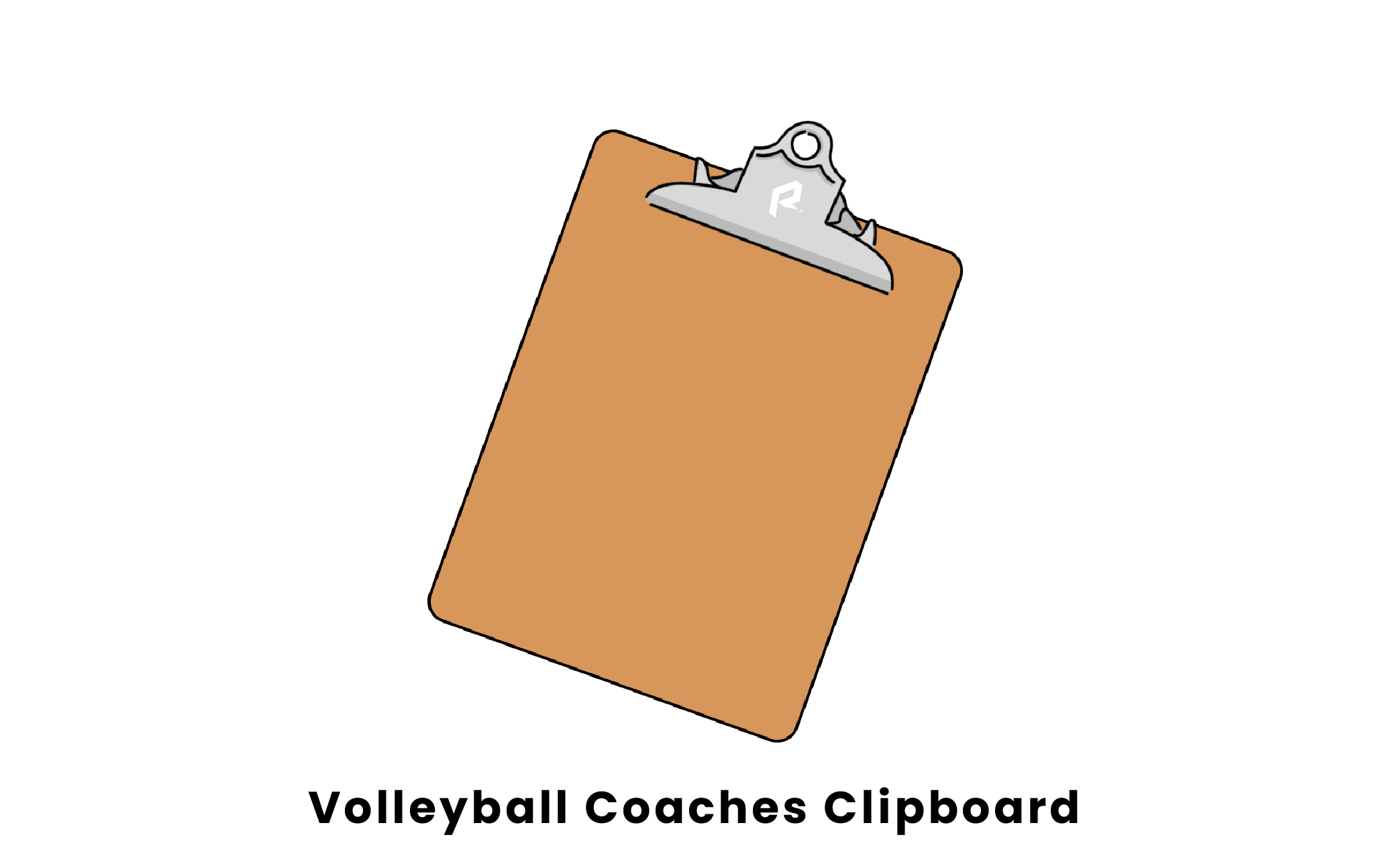 volleyball coaches clipboard