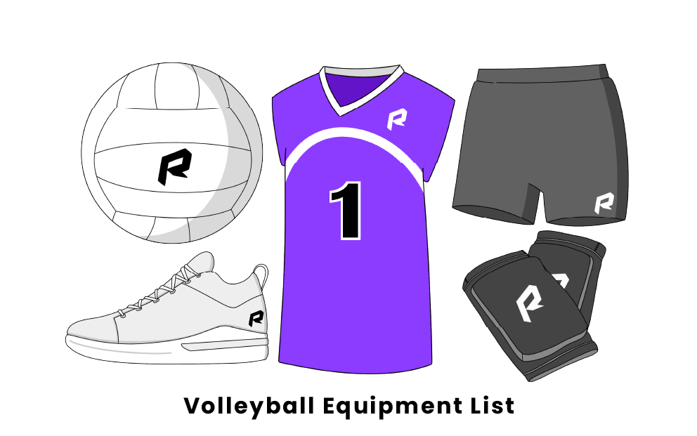 Volleyball Equipment List