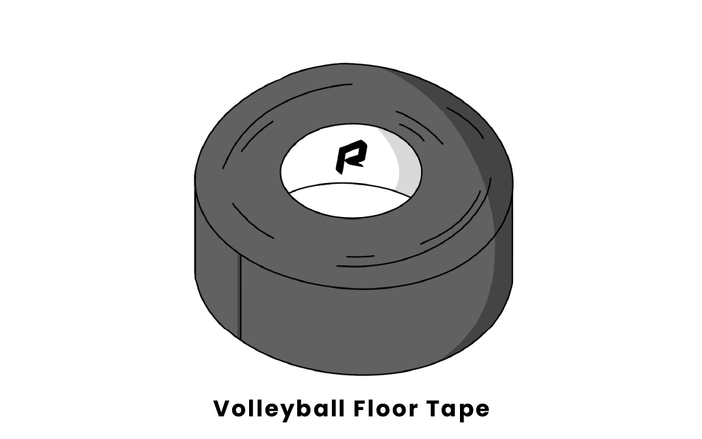 volleyball floor tape