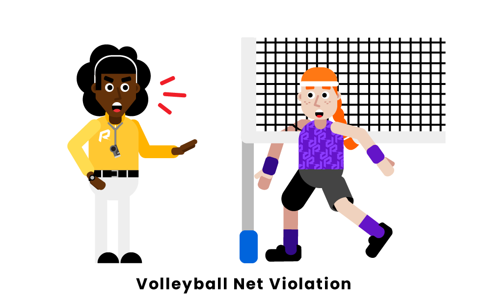 volleyball Net Violation
