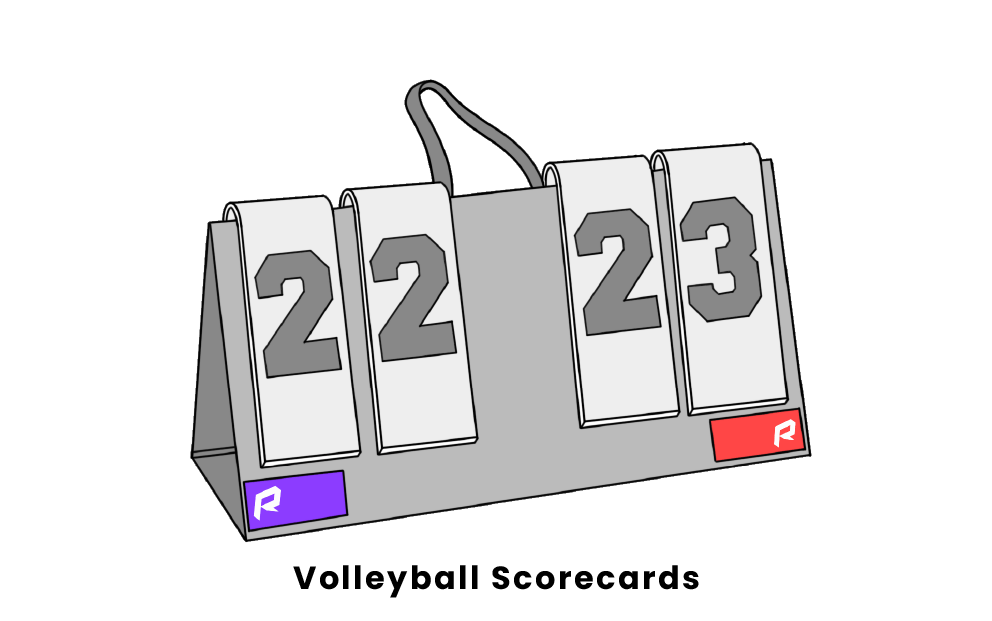 volleyball scorecards