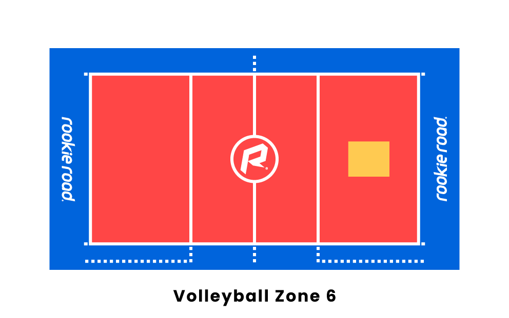Volleyball Zone 6