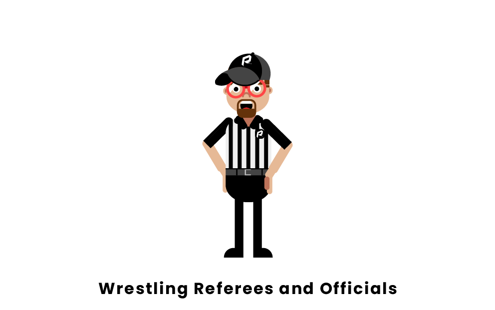 Wrestling Referees and Officials